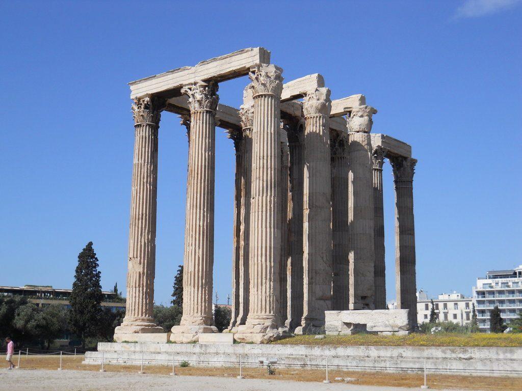 tempio-di-zeus-atene-traduzionespagnlolo
